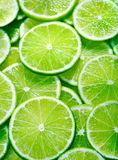 limefruktskivor Royaltyfri Fotografi