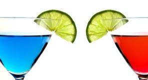 limefruktskivor Arkivfoton