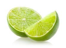 limefruktskivor Fotografering för Bildbyråer