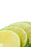 limefruktskivor Arkivbilder