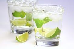 limefruktvatten Royaltyfri Fotografi