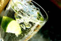 limefruktvatten Arkivfoton
