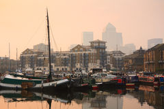 Limehouse Basin, London. Royalty Free Stock Photography