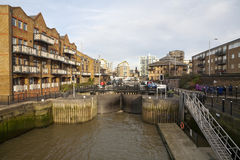 Limehouse Basin Stock Images