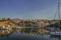 Limenas City.  Royalty Free Stock Images