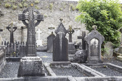 Limerick cemetery Royalty Free Stock Photos