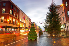 Limerick city centre before Christmas Stock Photos