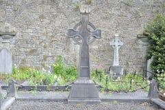 Limerick, Irland Juni 2017, St Mary & x27; kyrkogård för s Cathedralt, H Arkivfoto