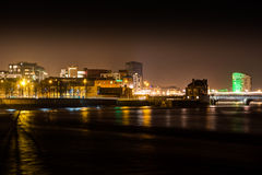 Limerick-Lichter stockfoto