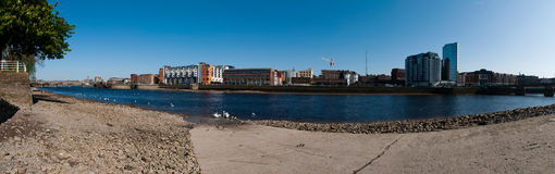 Limerick panorama Royalty Free Stock Photos