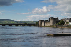 Limerick river view Royalty Free Stock Photography