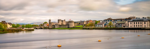 Limerick town panorama Stock Photography
