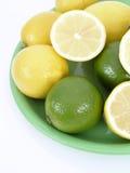 Limes. On white Stock Photo
