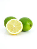 Limes. Isolated Stock Image