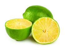 Limes. Isolated on white background Stock Image