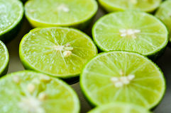 Limes Backgrounds, Close up shot Royalty Free Stock Photo