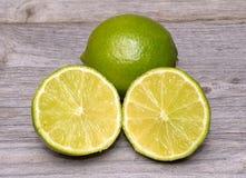Limes citrus fruit Stock Image