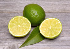 Limes citrus fruit Royalty Free Stock Photos