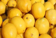 Limões frescos Foto de Stock Royalty Free
