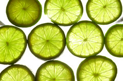 Limes and fruits 1 Stock Image