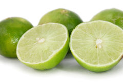 Limes half Stock Photography