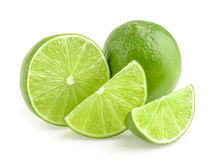 Limes isolated Stock Photography
