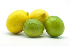 Limes and lemons Royalty Free Stock Photography