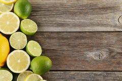 Limes and lemons Royalty Free Stock Photo