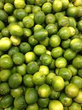 Limes for Sale. Royalty Free Stock Images