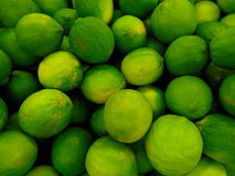 Limes. Tasty green limes. that are healthy and good Royalty Free Stock Image