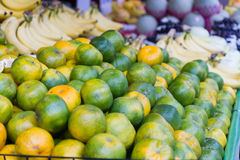 Limes at a traditional Taiwanese market Royalty Free Stock Photography
