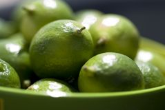 Limes Up Close Royalty Free Stock Image