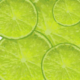 Limes - vector background. Vector background - slices of limes Royalty Free Stock Images