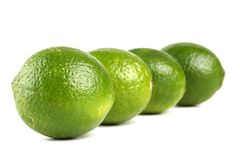 Limes (whole) Stock Image