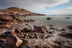 Limeslade Bay and Tut Hill headland Royalty Free Stock Photo