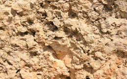 Limestone background close up. Royalty Free Stock Photography