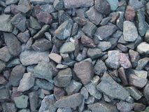 Limestone. Background at the railway station Stock Photography