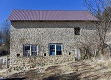 Limestone Barn Royalty Free Stock Images