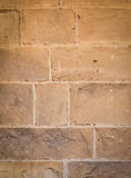 Limestone Block Wall Royalty Free Stock Photography