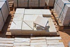 Limestone blocks Stock Photography