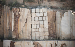 Marble blocks stock images