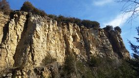 Limestone Bluffs. Bluffs of Debuque, Iowa Royalty Free Stock Images