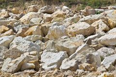 Free Limestone Boulders Royalty Free Stock Photos - 20766668