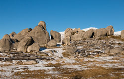 Limestone boulders of Castle Hill, New Zealand Royalty Free Stock Photography