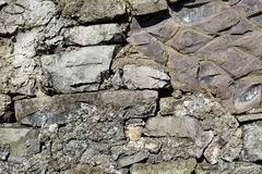Limestone bricks Royalty Free Stock Images