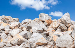Limestone for building Royalty Free Stock Image