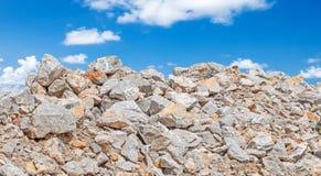 Limestone for building Stock Photo