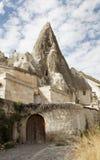 Limestone cave home Goreme Stock Image