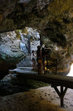 Limestone cave Royalty Free Stock Photography