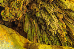 Limestone caves. Royalty Free Stock Image